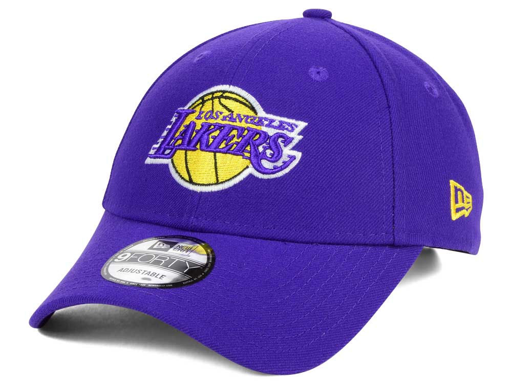 Los Angeles Lakers New Era NBA League 9FORTY Adjustable Cap  8dd8df1aa67