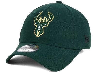 Milwaukee Bucks New Era NBA League 9FORTY Adjustable Cap