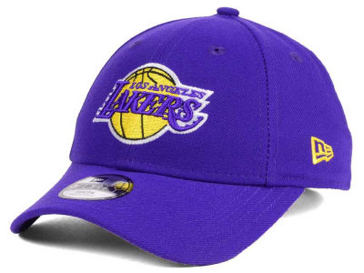 Los Angeles Lakers New Era NBA Youth League 9FORTY Adjustable Cap