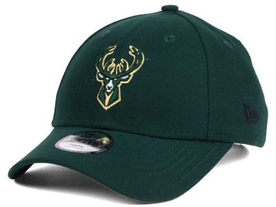 Milwaukee Bucks New Era NBA Youth League 9FORTY Adjustable Cap