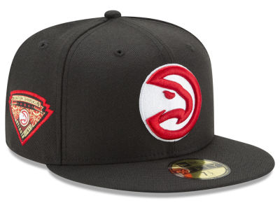 Atlanta Hawks New Era NBA Metallic Diamond Patch 59FIFTY Cap