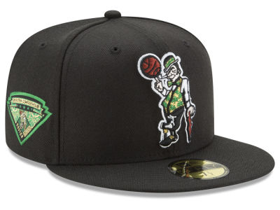 Boston Celtics New Era NBA Metallic Diamond Patch 59FIFTY Cap