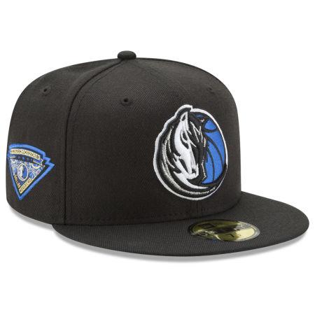 Dallas Mavericks New Era NBA Metallic Diamond Patch 59FIFTY Cap