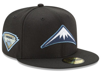Denver Nuggets New Era NBA Metallic Diamond Patch 59FIFTY Cap