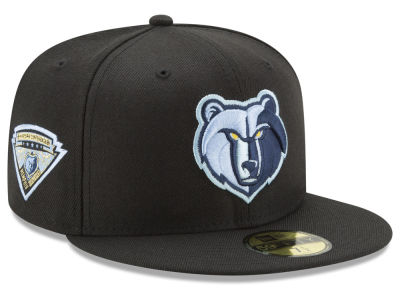 Memphis Grizzlies New Era NBA Metallic Diamond Patch 59FIFTY Cap