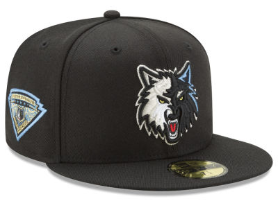 Minnesota Timberwolves New Era NBA Metallic Diamond Patch 59FIFTY Cap