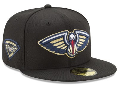 New Orleans Pelicans New Era NBA Metallic Diamond Patch 59FIFTY Cap