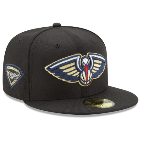 New Orleans Pelicans New Era NBA Metallic Diamond Patch 59FIFTY Cap
