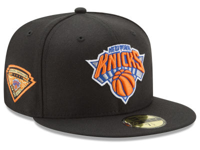 New York Knicks New Era NBA Metallic Diamond Patch 59FIFTY Cap