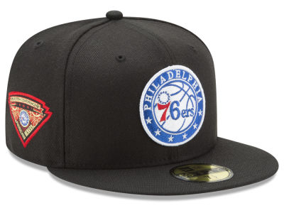 Philadelphia 76ers New Era NBA Metallic Diamond Patch 59FIFTY Cap