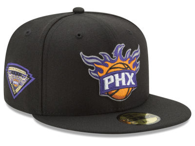 Phoenix Suns New Era NBA Metallic Diamond Patch 59FIFTY Cap