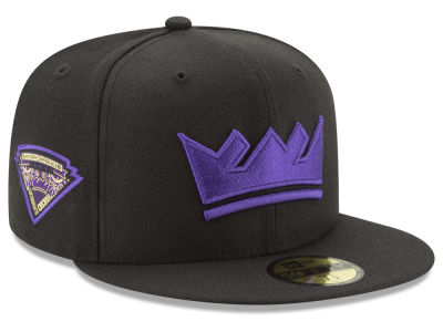 Sacramento Kings New Era NBA Metallic Diamond Patch 59FIFTY Cap