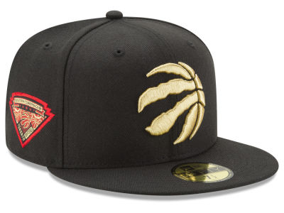 Toronto Raptors New Era NBA Metallic Diamond Patch 59FIFTY Cap