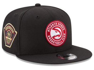 Atlanta Hawks New Era NBA All Metallic Hoops 9FIFTY Snapback Cap