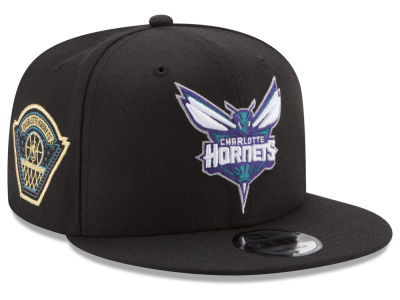 Charlotte Hornets New Era NBA All Metallic Hoops 9FIFTY Snapback Cap