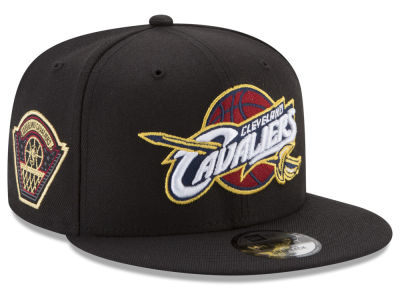 Cleveland Cavaliers New Era NBA All Metallic Hoops 9FIFTY Snapback Cap