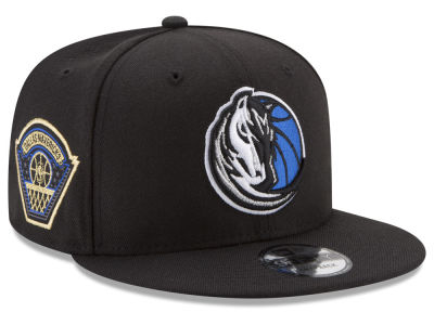Dallas Mavericks New Era NBA All Metallic Hoops 9FIFTY Snapback Cap