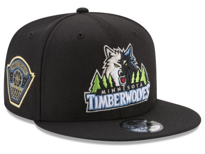 Minnesota Timberwolves New Era NBA All Metallic Hoops 9FIFTY Snapback Cap