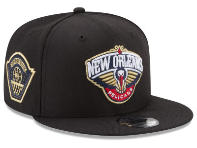 New Orleans Pelicans New Era NBA All Metallic Hoops 9FIFTY Snapback Cap
