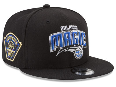 Orlando Magic New Era NBA All Metallic Hoops 9FIFTY Snapback Cap