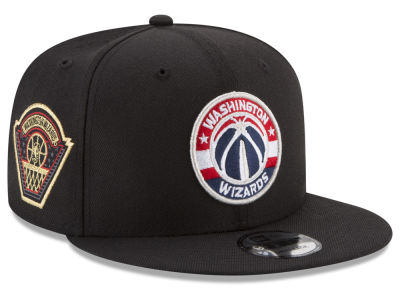Washington Wizards New Era NBA All Metallic Hoops 9FIFTY Snapback Cap