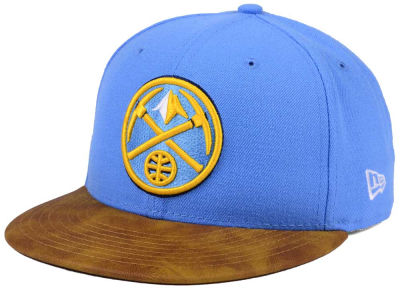 Denver Nuggets New Era NBA Team Butter 59FIFTY Snapback Cap