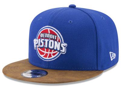 Detroit Pistons New Era NBA Team Butter 59FIFTY Snapback Cap