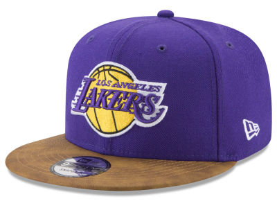 Los Angeles Lakers New Era NBA Team Butter 59FIFTY Snapback Cap