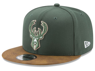 Milwaukee Bucks New Era NBA Team Butter 59FIFTY Snapback Cap