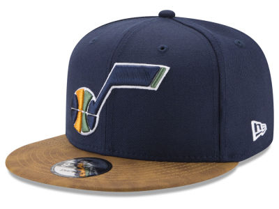 Utah Jazz New Era NBA Team Butter 59FIFTY Snapback Cap