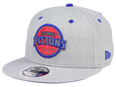 Detroit Pistons New Era NBA Total Reflective 9FIFTY Snapback Cap