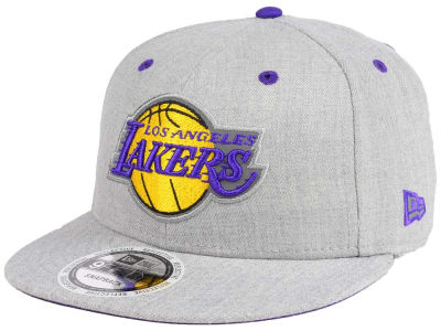 Los Angeles Lakers New Era NBA Total Reflective 9FIFTY Snapback Cap