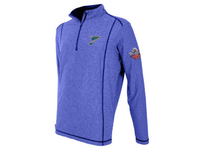 St. Louis Blues Antigua NHL 2017 Men's Winter Classic Tempo Quarter Zip Pullover
