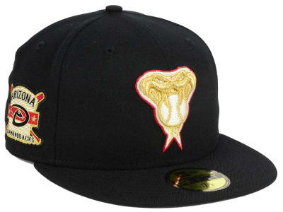 Arizona Diamondbacks New Era MLB Exclusive Gold Patch 59FIFTY Cap