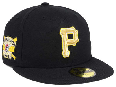 Pittsburgh Pirates New Era MLB Exclusive Gold Patch 59FIFTY Cap