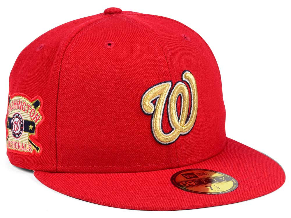 new styles 0c975 e5579 inexpensive washington nationals cap gold 8f09a 2fbb5