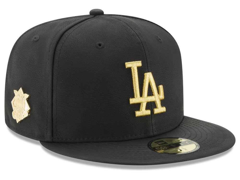 bf7c017157b Los Angeles Dodgers New Era MLB The League Metallic Patch 59FIFTY Cap