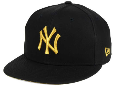 New York Yankees New Era MLB The League Metallic Patch 59FIFTY Cap