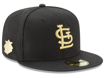 St. Louis Cardinals New Era MLB The League Metallic Patch 59FIFTY Cap
