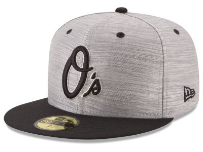 Baltimore Orioles New Era MLB Silver Dollar 59FIFTY Cap