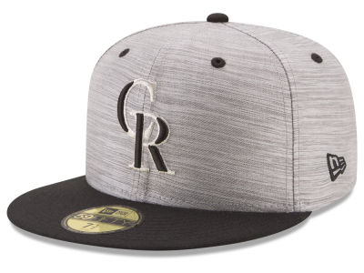 Colorado Rockies New Era MLB Silver Dollar 59FIFTY Cap