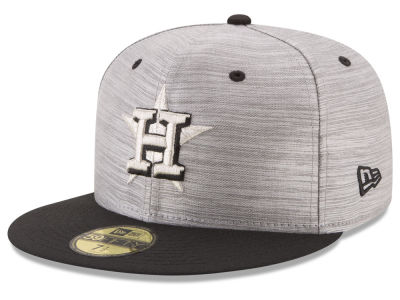 Houston Astros New Era MLB Silver Dollar 59FIFTY Cap