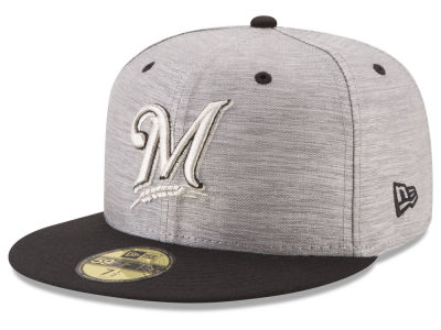 Milwaukee Brewers New Era MLB Silver Dollar 59FIFTY Cap