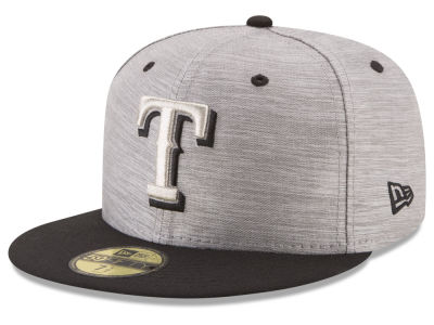 Texas Rangers New Era MLB Silver Dollar 59FIFTY Cap