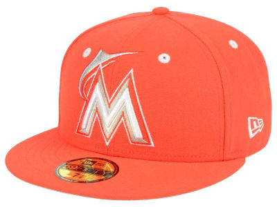 Miami Marlins New Era MLB Pantone Collection 59FIFTY Cap