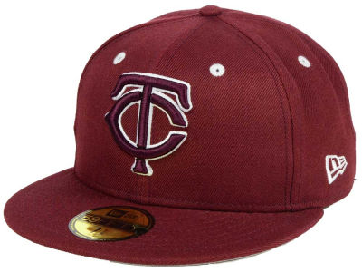 save off 340a3 e30e2 Minnesota Twins New Era MLB Pantone Collection 59FIFTY Cap