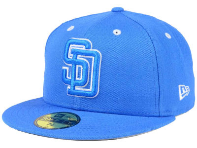 huge discount f16b9 ba623 San Diego Padres New Era MLB Pantone Collection 59FIFTY Cap