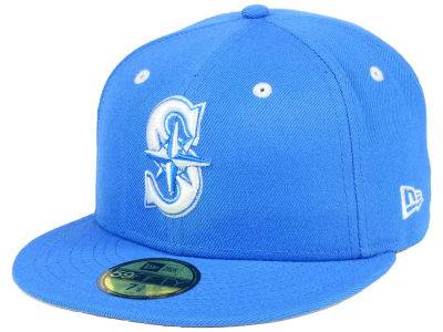 Seattle Mariners MLB Pantone Collection 59FIFTY Cap