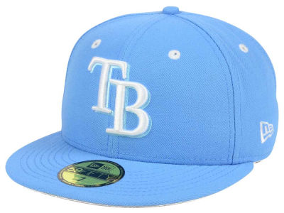 Tampa Bay Rays New Era MLB Pantone Collection 59FIFTY Cap