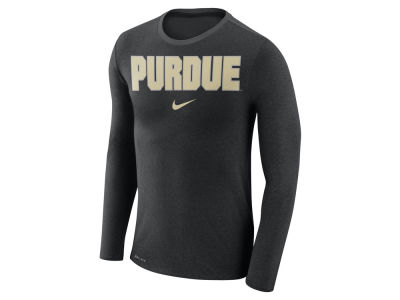 Purdue Boilermakers Nike NCAA Men's Marled Long Sleeve T-Shirt